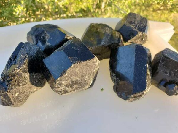 Black Tourmaline Crystals Large Size