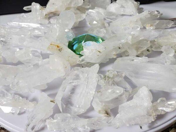 Raw Faden Quartz Crystals