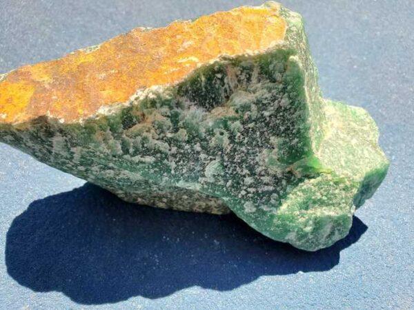 Green Aventurine Rough Rock