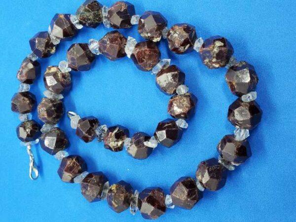 Herkimer Diamond Quartz plus Garnet