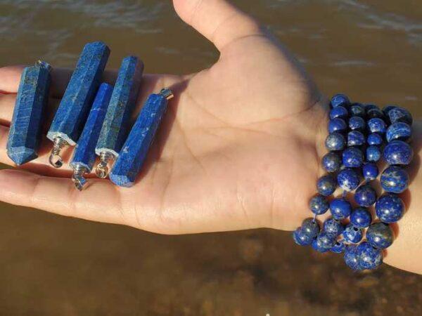 Lapis Lazuli Beads & Pendants