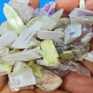 Tumbled Kunzite Crystal