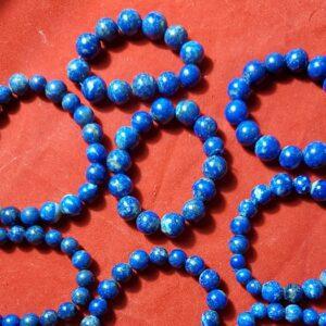 Lapis Lazuli Hand Beads