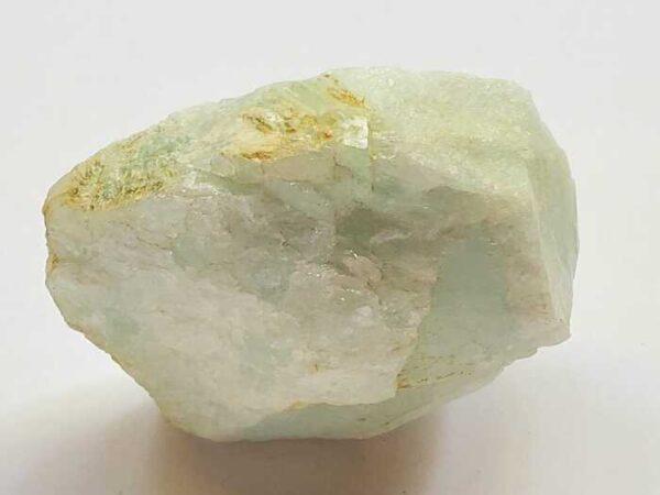 raw aquamarine rock