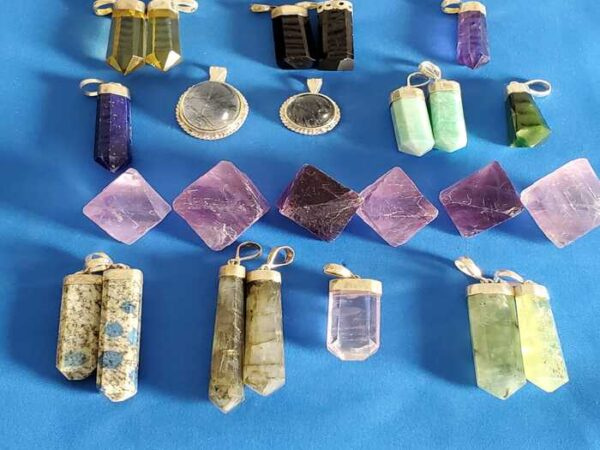 Handmade Crystal Pendants
