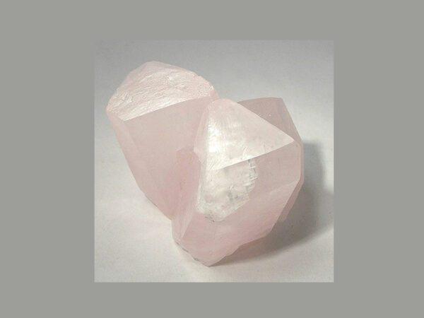 Pink Calcite, Transparent